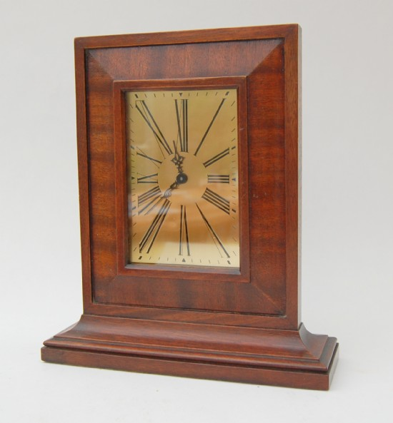 1930 Waltham tall mantle clock.
