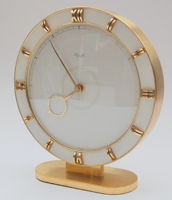 Kienzle large mantle clock keeping excellent time. 1950/60