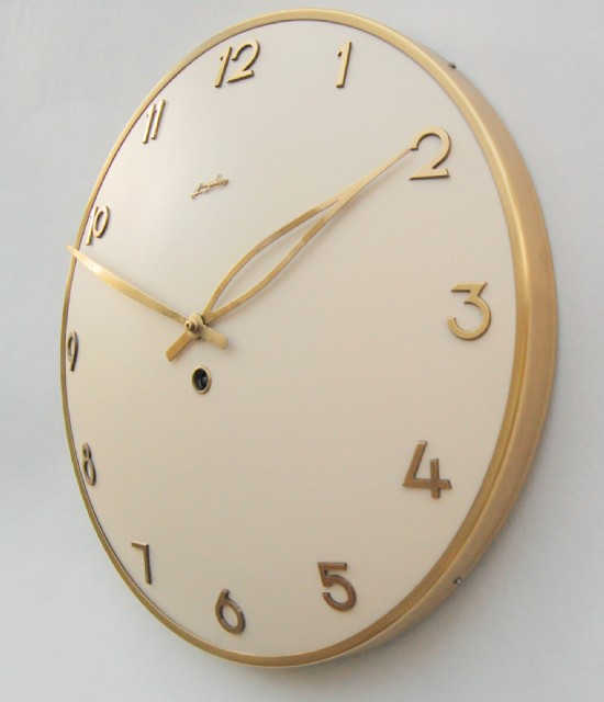 Kienzle iconic art deco wall clock. A brilliant example keeping excellent time